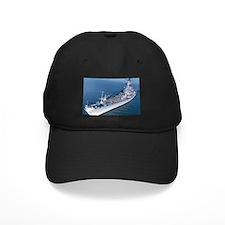 USS Wisconsin Ship Image Baseball Hat