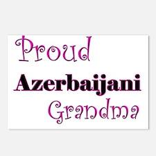 Proud Azerbaijani Grandma Postcards (Package of 8)