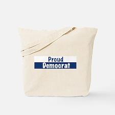 Cute Proud liberal Tote Bag