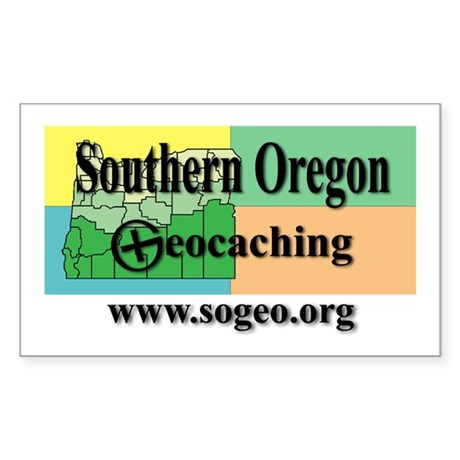 sogeo Rectangle Sticker