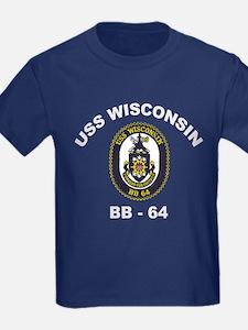 USS Wisconsin BB 64 T