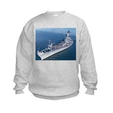 USS Wisconsin Ship's Image Sweatshirt