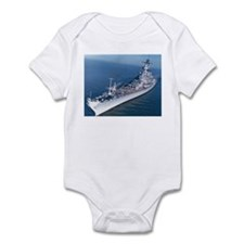 USS Wisconsin Ship's Image Infant Bodysuit