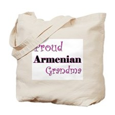 Proud Armenian Grandma Tote Bag