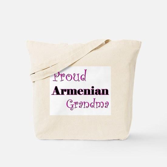 Proud Armenian Grandma Tote Bag