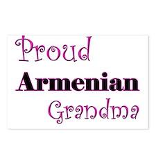 Proud Armenian Grandma Postcards (Package of 8)