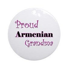 Proud Armenian Grandma Ornament (Round)