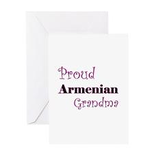 Proud Armenian Grandma Greeting Card