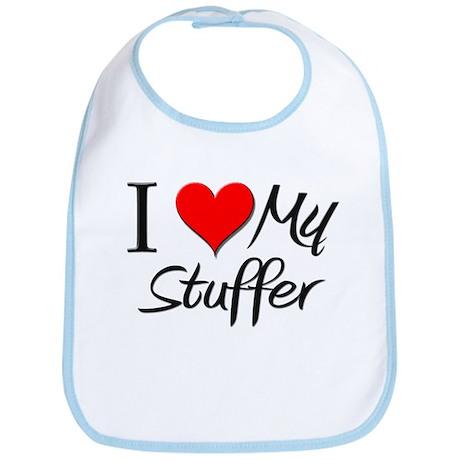 I Heart My Stuffer Bib