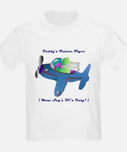 Daddy's Future Flyer T-Shirt