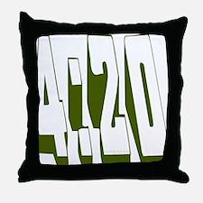 420 Throw Pillow