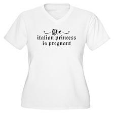 The Italian Princess is Pregnant T-Shirt