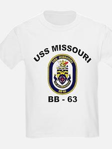 USS Missouri BB-63 T-Shirt