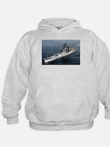 USS Missouri Ship's Image Hoodie
