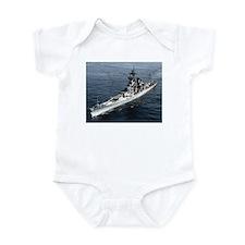 USS Missouri Ship's Image Infant Bodysuit