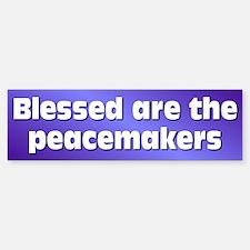 PEACEMAKERS Bumper Bumper Bumper Sticker