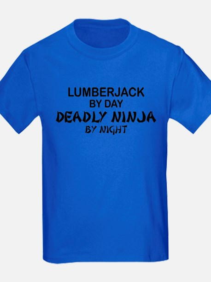 Lumberjack Deadly Ninja T