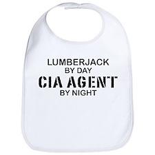 Lumberjack CIA Agent Bib