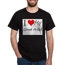 I Heart My Street Artist T-Shirt