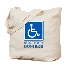 Handicapped Parking Tote Bag