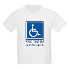 Handicapped Parking T-Shirt