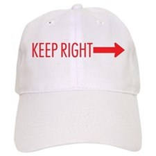 Keep Right Baseball Cap
