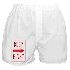 Keep Right Boxer Shorts
