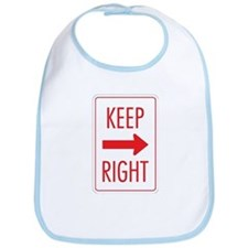 Keep Right Bib