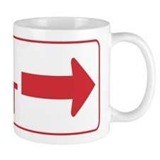 Keep Right Mug