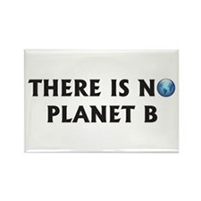 There Is No Planet B Rectangle Magnet