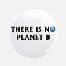 """There Is No Planet B 3.5"""" Button"""