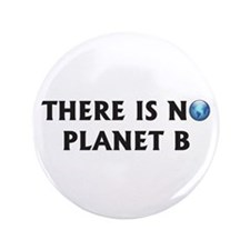 """There Is No Planet B 3.5"""" Button (100 pack)"""