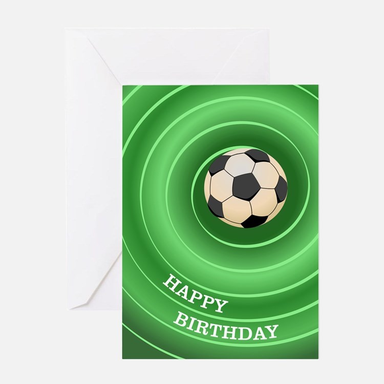 Soccer Ball - Birthday Card