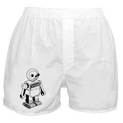 Retro Robot Boxer Shorts