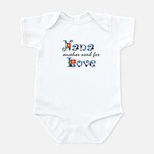 Nana Love  Infant Bodysuit