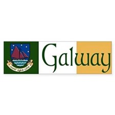 County Galway Bumper Bumper Sticker