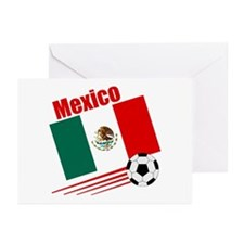 Mexico Soccer Team Greeting Cards (Pk of 10)