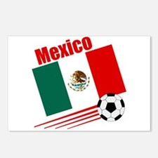 Mexico Soccer Team Postcards (Package of 8)
