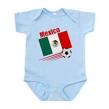 Mexico Soccer Team Infant Bodysuit