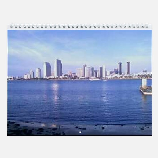 Unique City skylines Wall Calendar