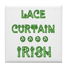 Lace Curtain Irish Tile Coaster