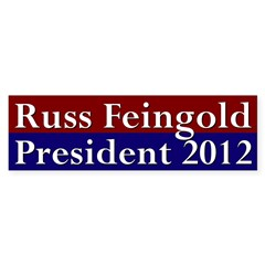 Russ Feingold 2012 Bumper Bumper Sticker