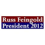 Russ Feingold 2012 Bumper Sticker