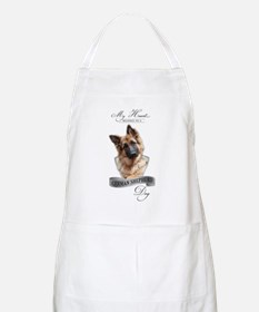 German Shepherd black Light Apron