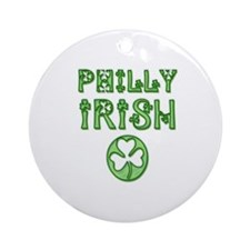 Philadelphia Irish Ornament (Round)