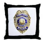 P.E. Detective Throw Pillow