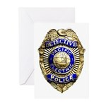 P.E. Detective Greeting Cards (Pk of 20)