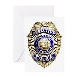 P.E. Detective Greeting Card
