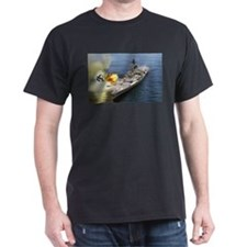 USS Iowa Ship's Image T-Shirt