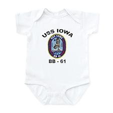 USS Iowa BB-61 Infant Bodysuit